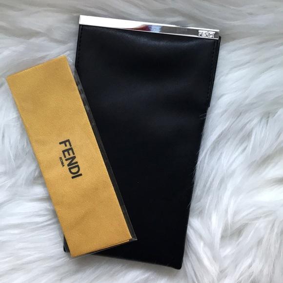 e08db157491 Fendi Accessories - Fendi Leather Sunglasses Case